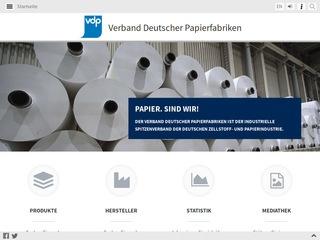 Verband Deutscher Papierfabriken