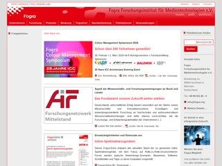 Fogra Forschungsinstitut für Medientechnologien e. V.