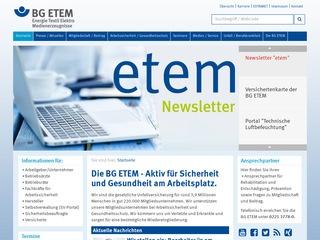 BG Energie, Textil, Elektro, Medienerzeugnisse