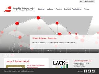 Verband der deutschen Lack- und Druckfarbenindustrie e. V.